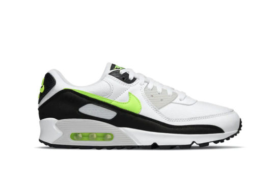 Nike Air Max 90 White Hot Lime cz1846-100