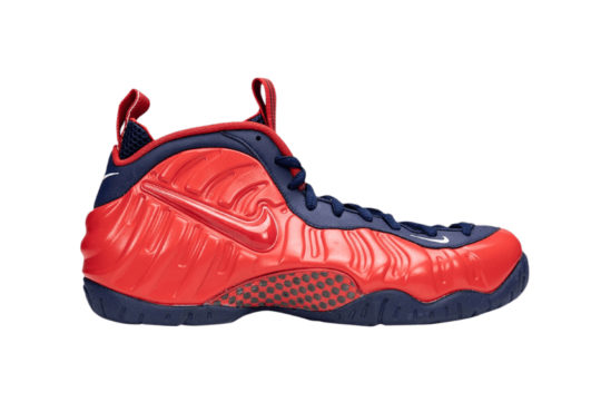 Nike Foamposite Pro USA Crimson Navy