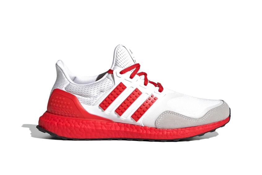 Lego x adidas Ultra Boost White Red