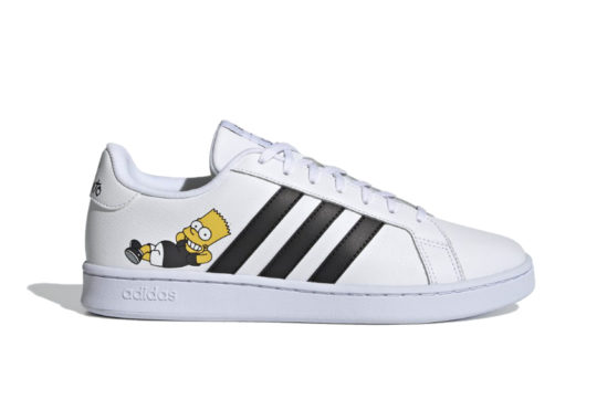 The Simpsons x adidas Grand Court «Bart Simpson» h02555