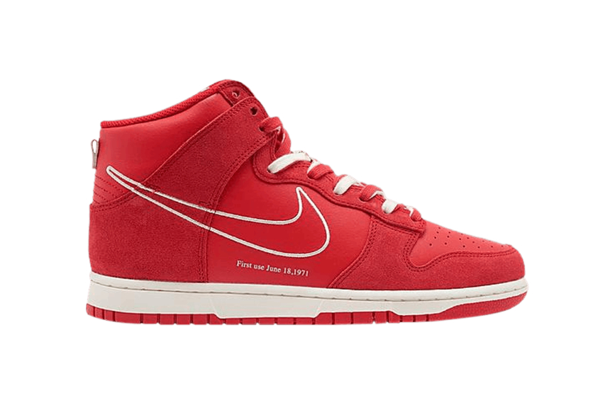 Nike Dunk High First Use «University Red» dh0960-600