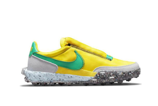 Nike Waffle Racer Crater Yellow Green ct1983-701