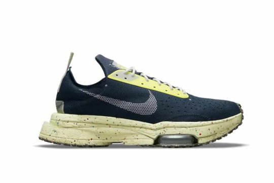 Nike Air Zoom Type Crater Navy Yellow dh9628-400