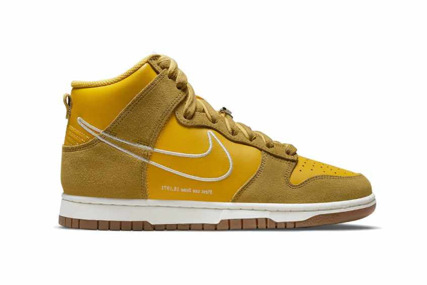 Nike Dunk High First Use Gold dh6758-700