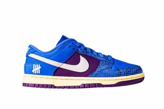 Undefeated x Nike Dunk Low «Royal Purple» dh6508-400