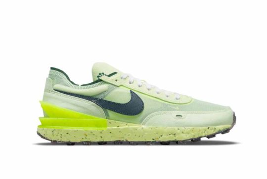 Nike Waffle One Crater Neon Green dc2650-300
