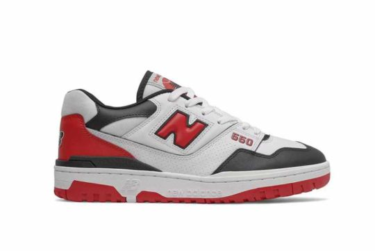 New Balance 550 Team Red «Shifted Sport» bb550hr1