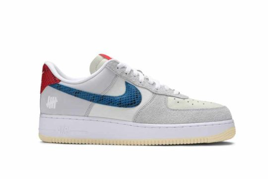 Undefeated x Nike Air Force 1 Low «5 on It» dm8461-001