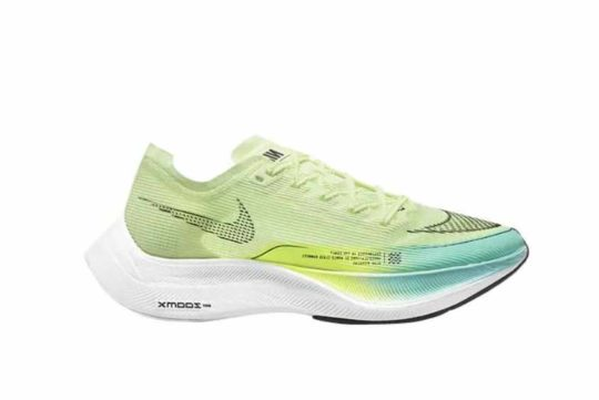Nike ZoomX Vaporfly Next% 2 Womens Barely Volt cu4123-700